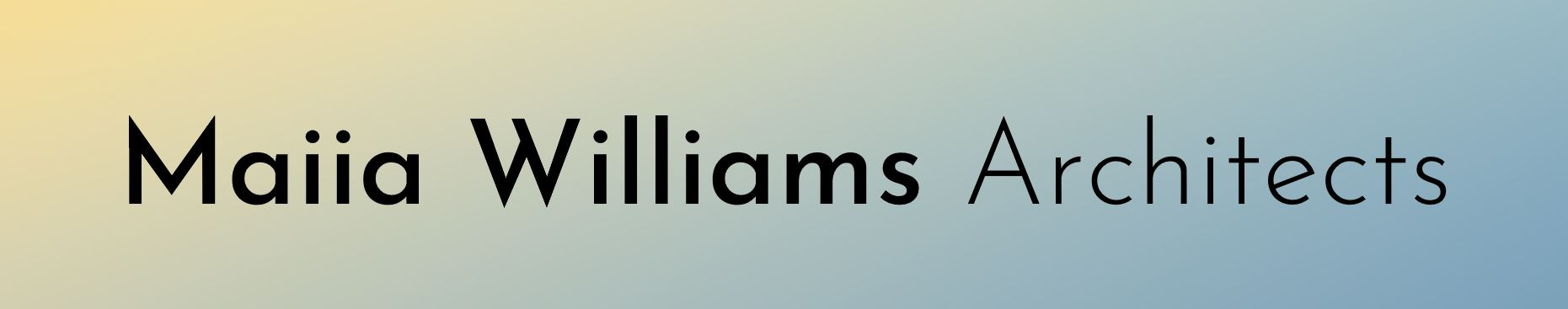 Maiia Williams Architect Molesey Londonand PassivHaus Designer